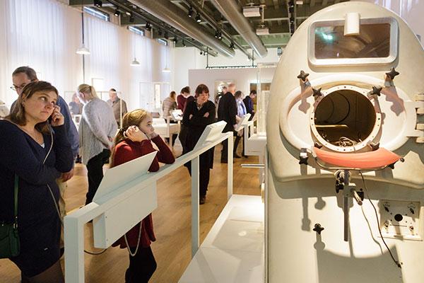 Serie audioverhalen voor de nieuwe vaste tentoonstelling van Rijksmuseum Boerhaave in Leiden.